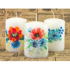 Candles Painted Handmade