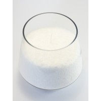 Candles in bulk stearin
