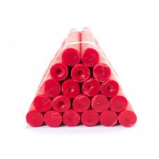 Бытовые парафиновые свечи №20/220 (красные)
