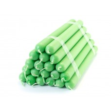 Household paraffin candles №20 / 220 (green)