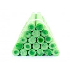 Бытовые парафиновые свечи №20/220 (зеленые)