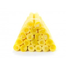 Household paraffin candles №20 / 220 (yellow)
