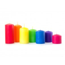 Household paraffin candles №50 / 110 (color)