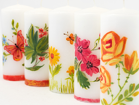 DESIGN CANDLES